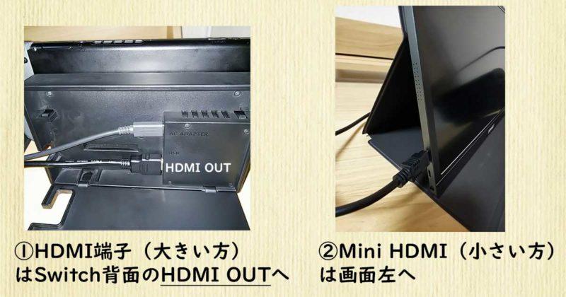 HDMI端子のセッティング